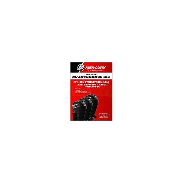 100 Hour Maintenance kit 75-115 HP (2,1L)